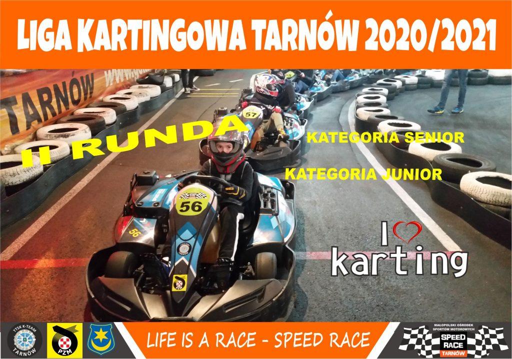 II runda ligi kartingowej w Tarnowie już za nami