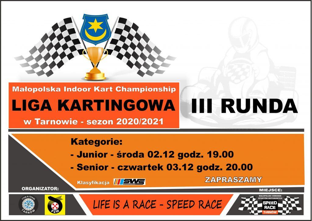 III Runda Ligi Kartingowej w Tarnowie
