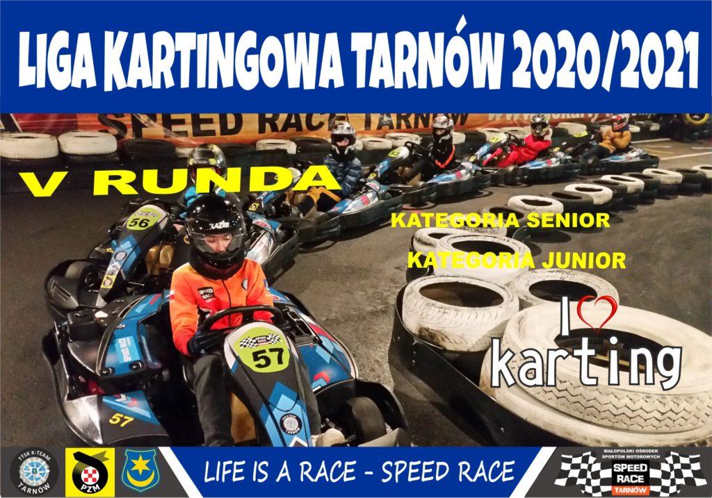 V runda ligi kartingowej w Tarnowie już za nami