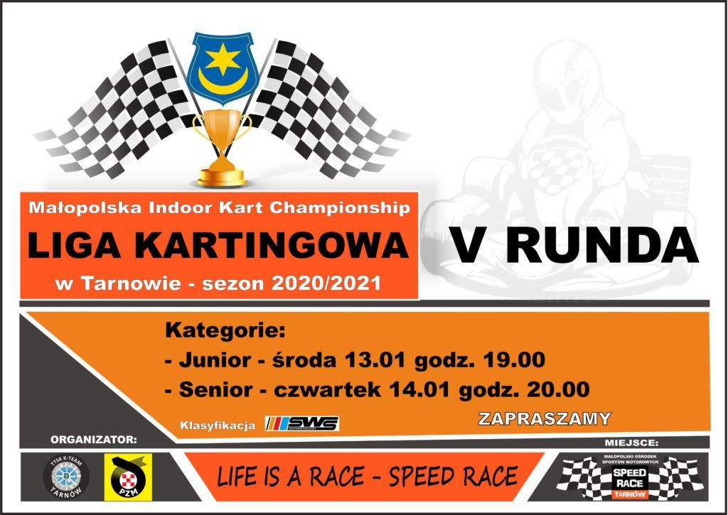 V Runda Ligi Kartingowej w Tarnowie
