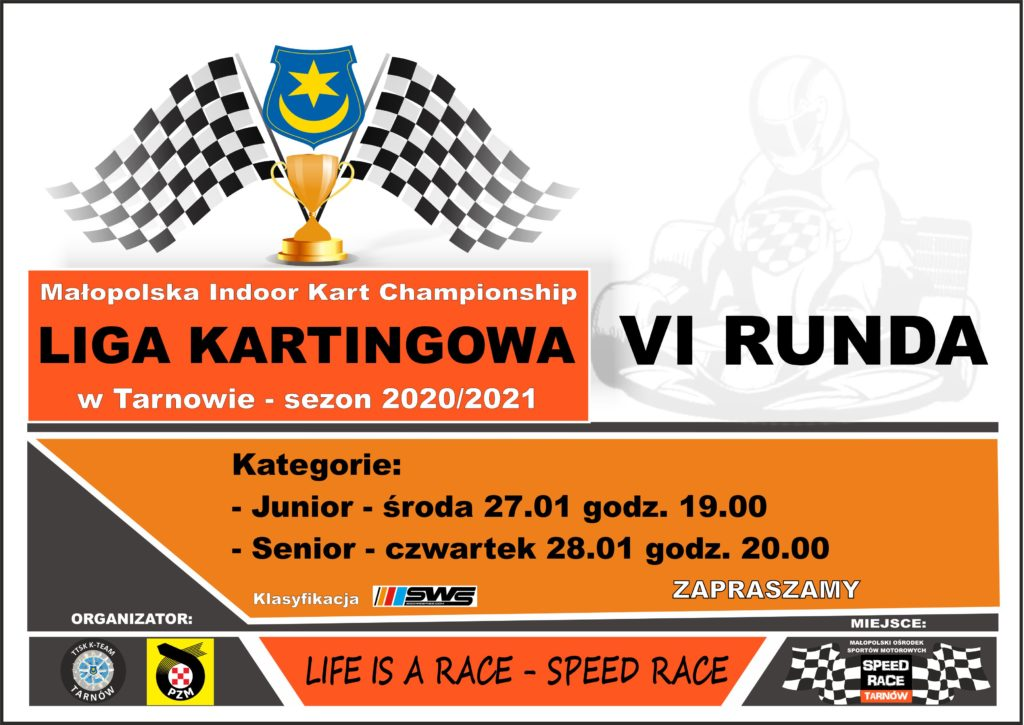 VI Runda Ligi Kartingowej w Tarnowie