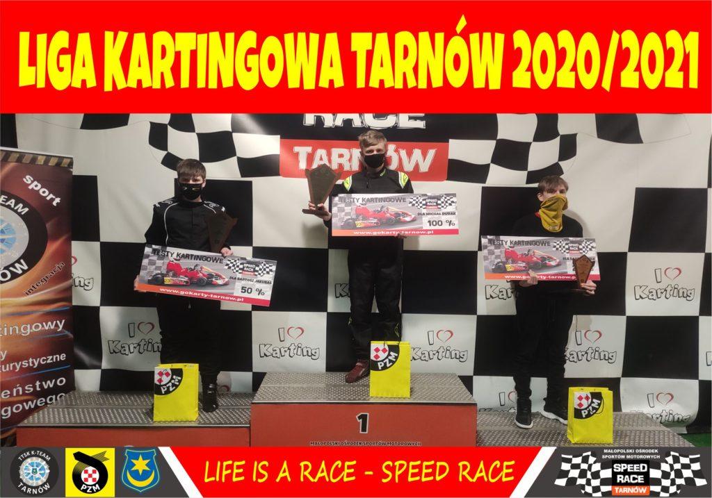 Kacper Kajmowicz i Michał Durak Kartingowymi Mistrzami Ligi w Tarnowie