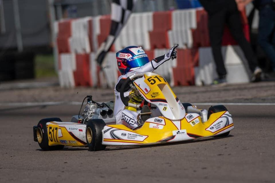 Tarnowianin Maciej Gładysz zostaje Mistrzem FIA Karting Academy Trophy 2021